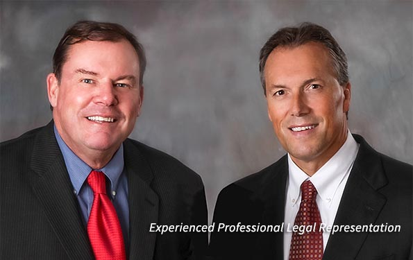 Personal injury Attorneys John L. Collins and Mario A. Pimentel. Laywers at the office of Hamel, Waxler, Allen and Collins, P.C.